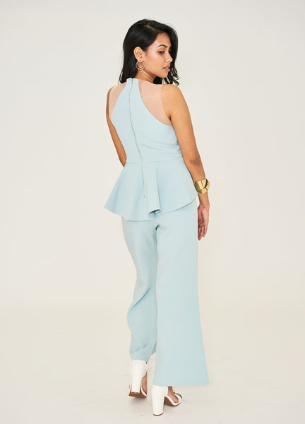 Dacharis Jumpsuit (Pale Blue)