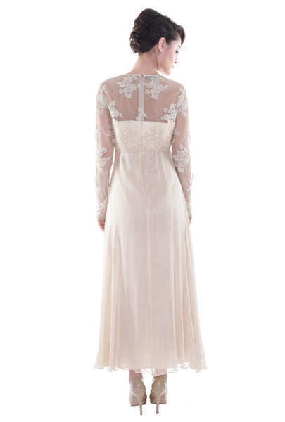 NM Champagne Long Dress