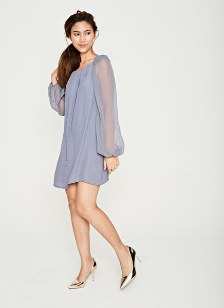 Slate Shift Dress