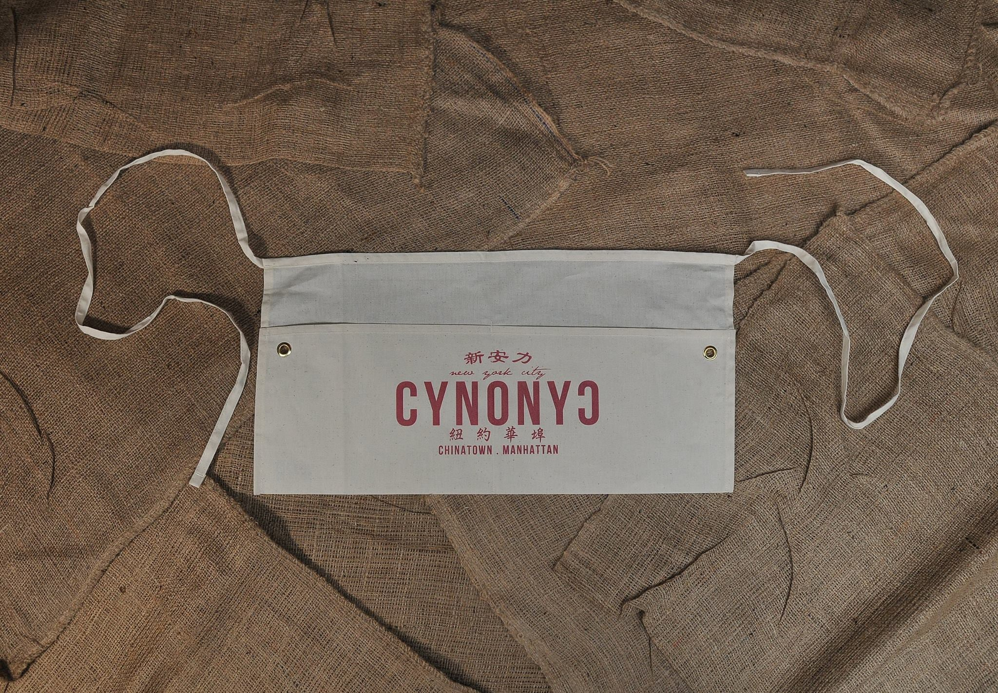 CANVAS WAIST APRON - CYNONYC Chinatown Clothing Company