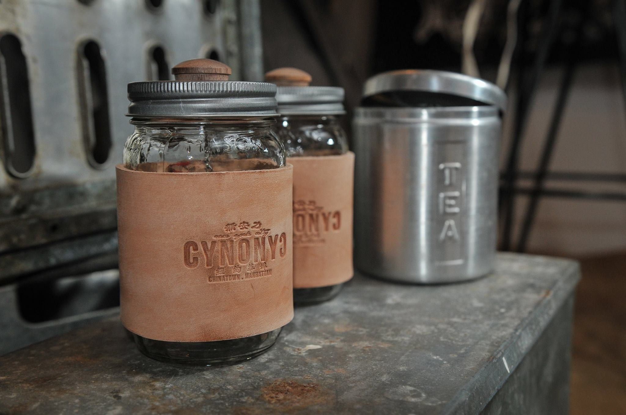 MASON TEA JAR - CYNONYC Chinatown Clothing Company