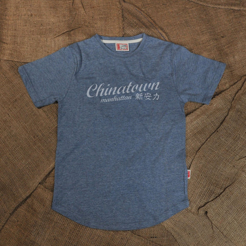 CHINATOWN MANHATTAN TSHIRT (BLUE)
