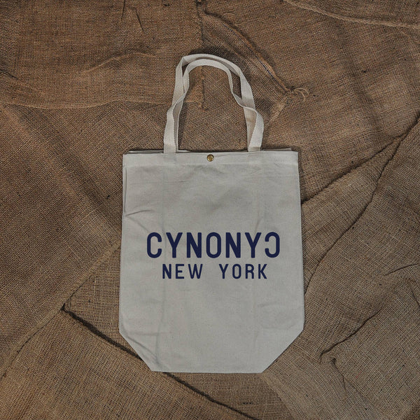 NATURAL CANVAS TOTE - CYNONYC Chinatown Clothing Company