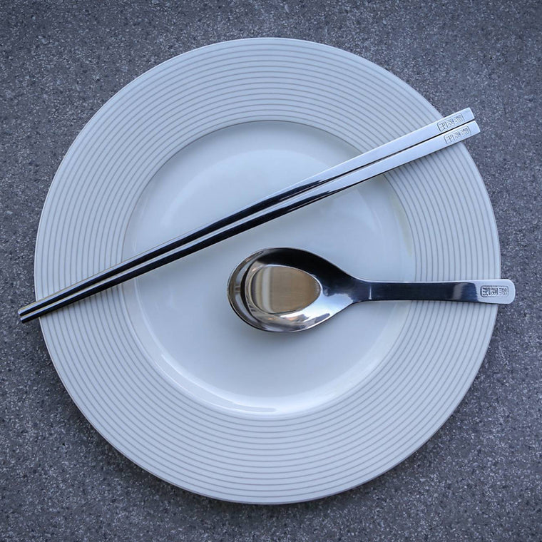 STAINLESS STEEL CHOPSTICK SET