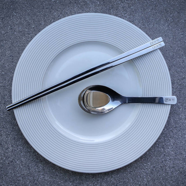 STAINLESS STEEL CHOPSTICK SET - CYNONYC Chinatown Clothing Company