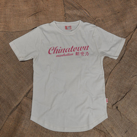 CHINATOWN MANHATTAN TSHIRT (CREAM)
