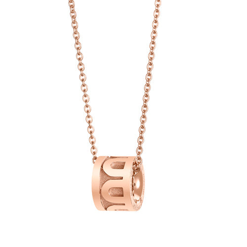 L'Arc de DAVIDOR Bead, 18k Rose Gold with Satin Finish