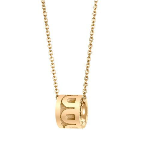 L'Arc de DAVIDOR Bead, 18k Yellow Gold with Satin Finish