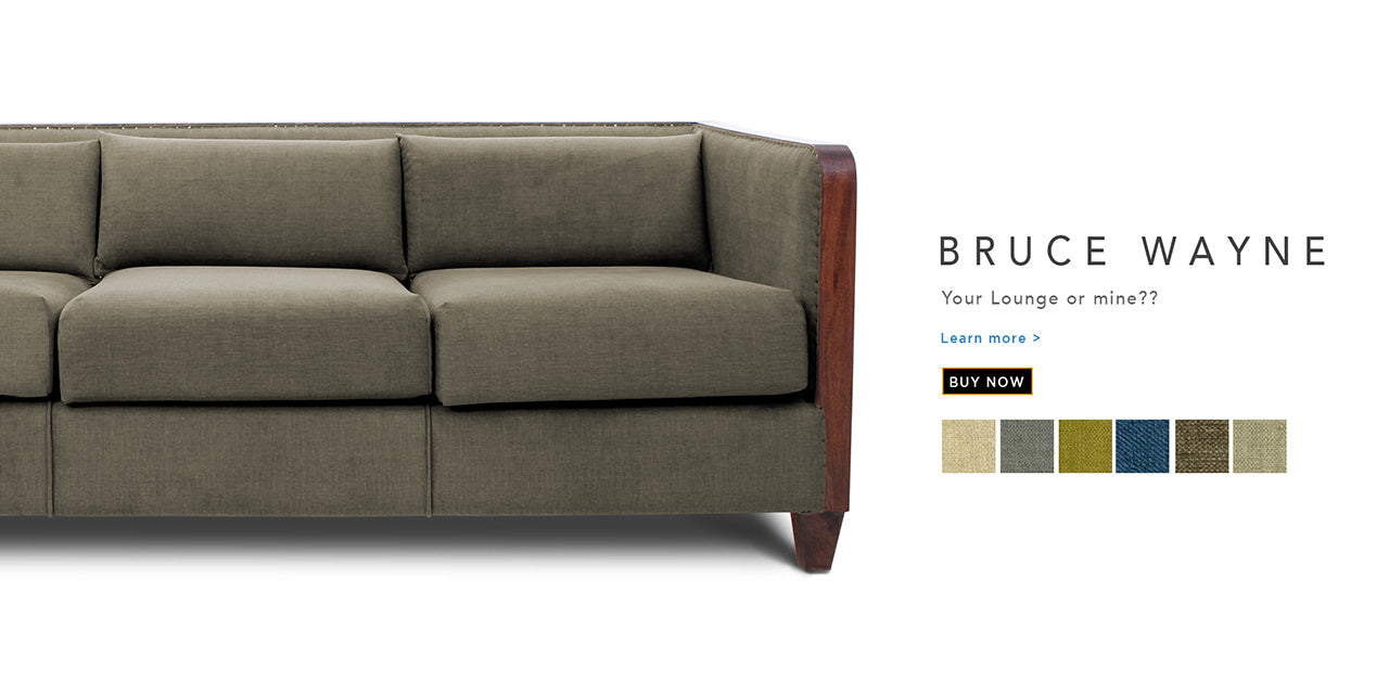 Counter Culture Bruce Wayne fabric sofa Catalogue page