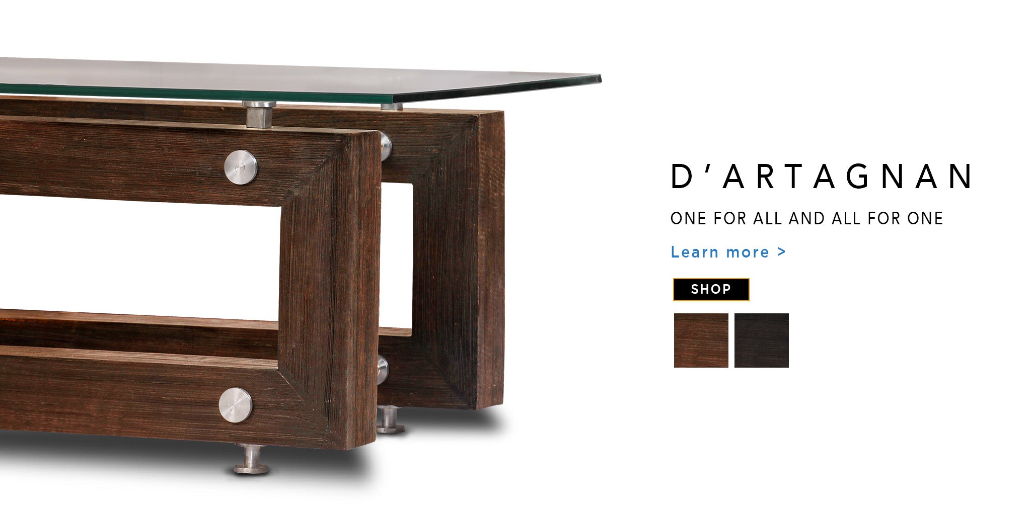 Counter Culture Coffee Table D'Artagnan