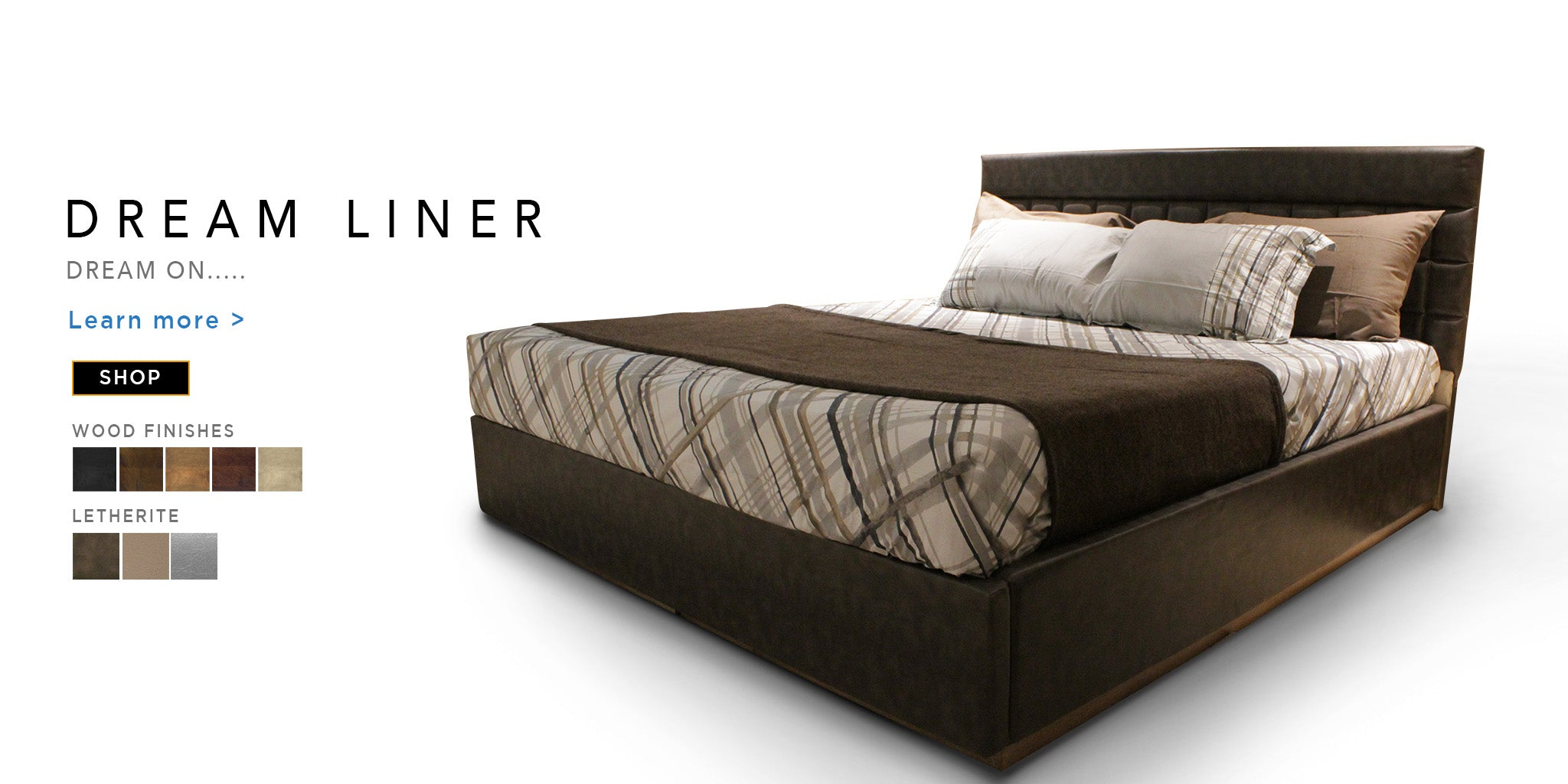Counter Culture Dream Liner Double Bed Catalogue Page