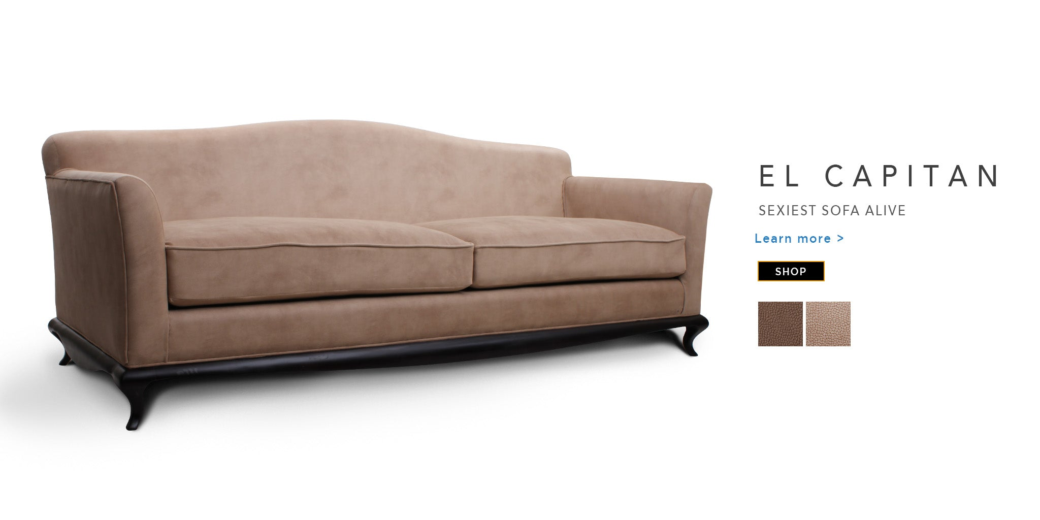 Counter Culture Fabric Sofa El Capitan catalogue page