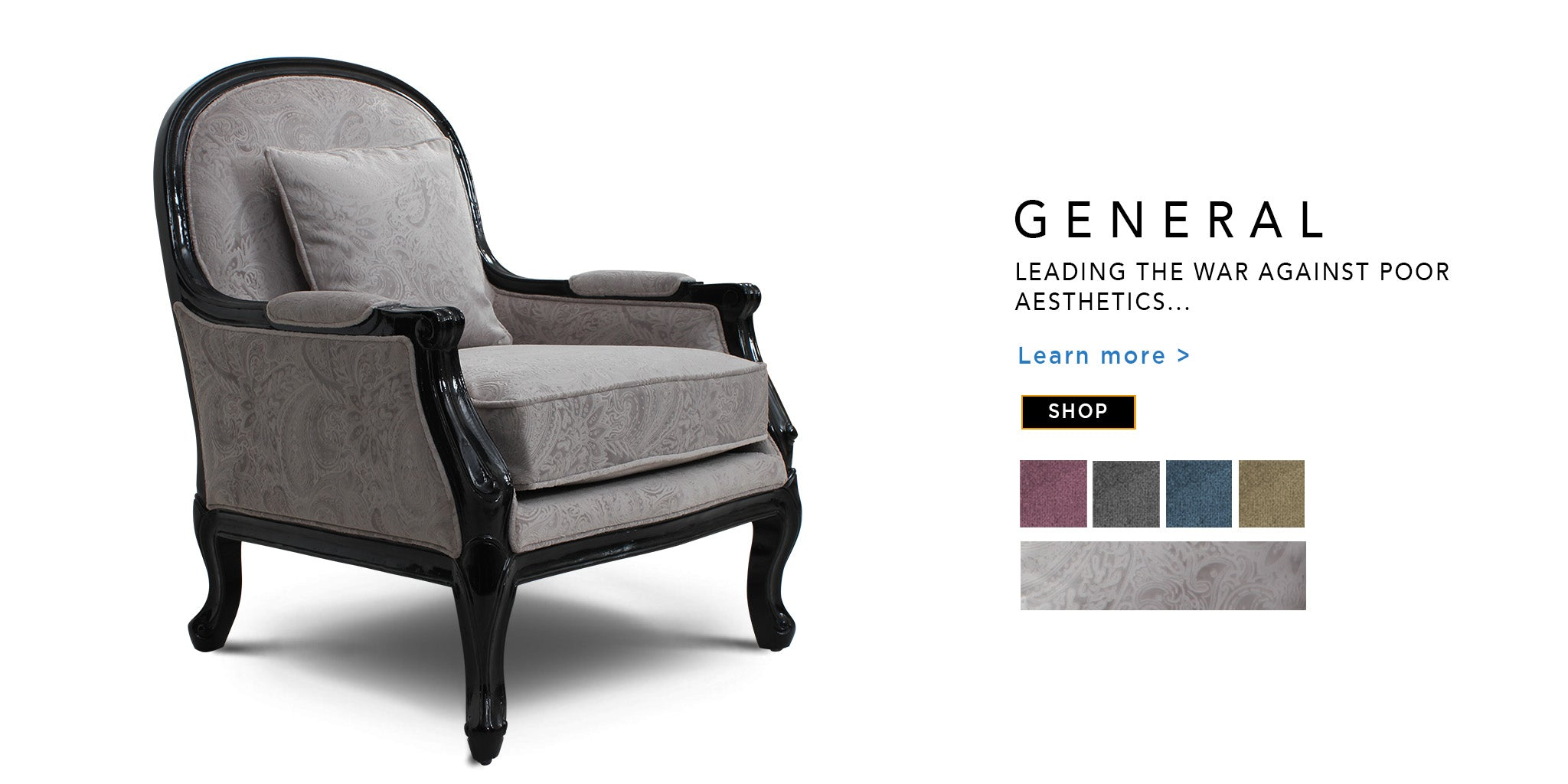 Counter Culture classic general chair catalohue page