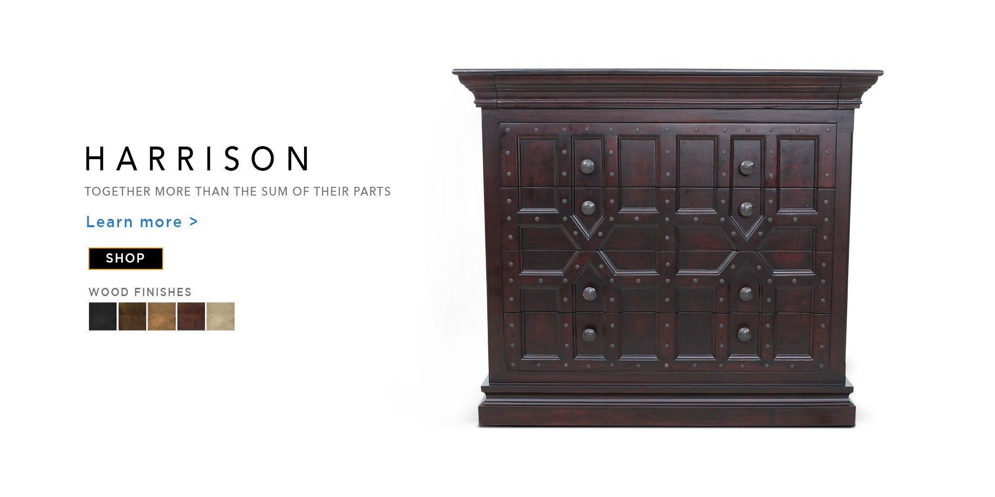Counter Culture Harrison Chest Of Drawer Ebony Catalogue Page