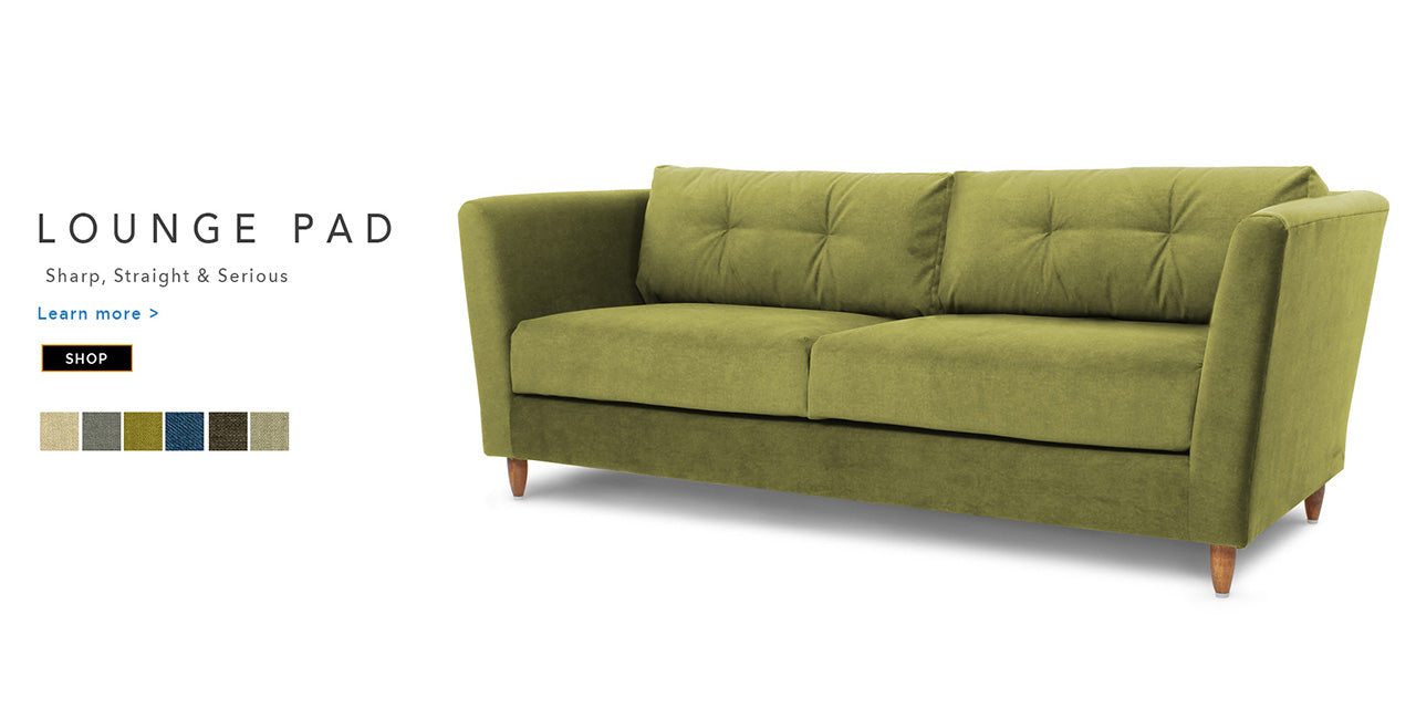 counter culture fabric sofa Lounge Pad Catalogue Page