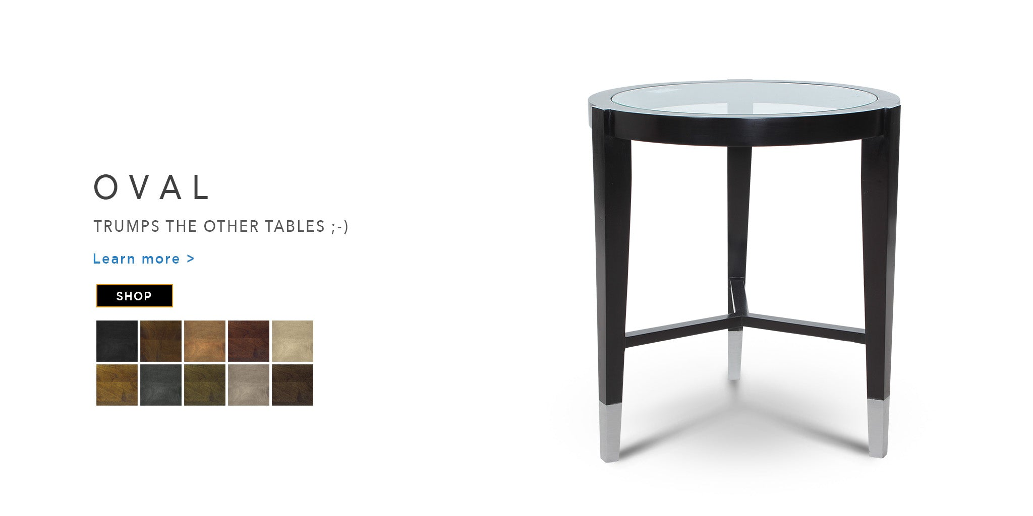 Counter Culture Oval End Table Catalogue