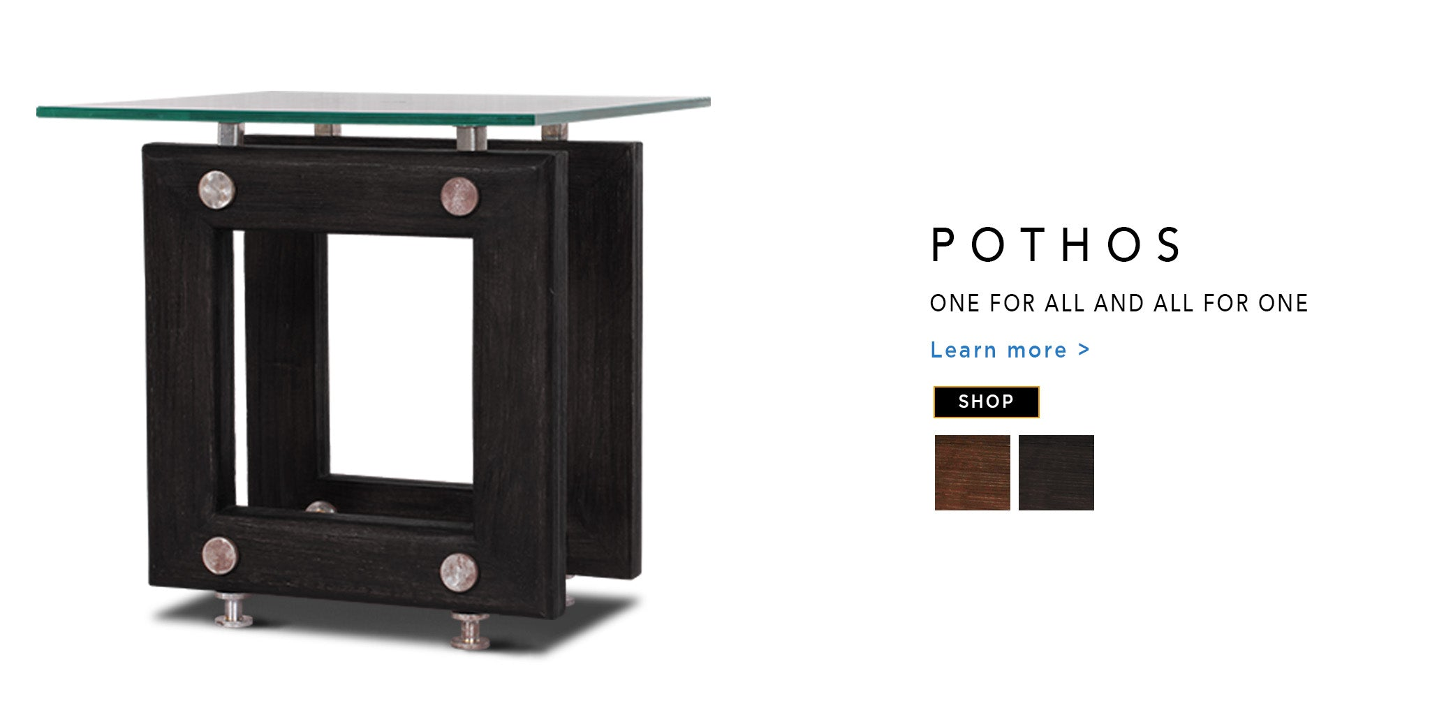 Counter Culture End Table Porthos Catalogue Page