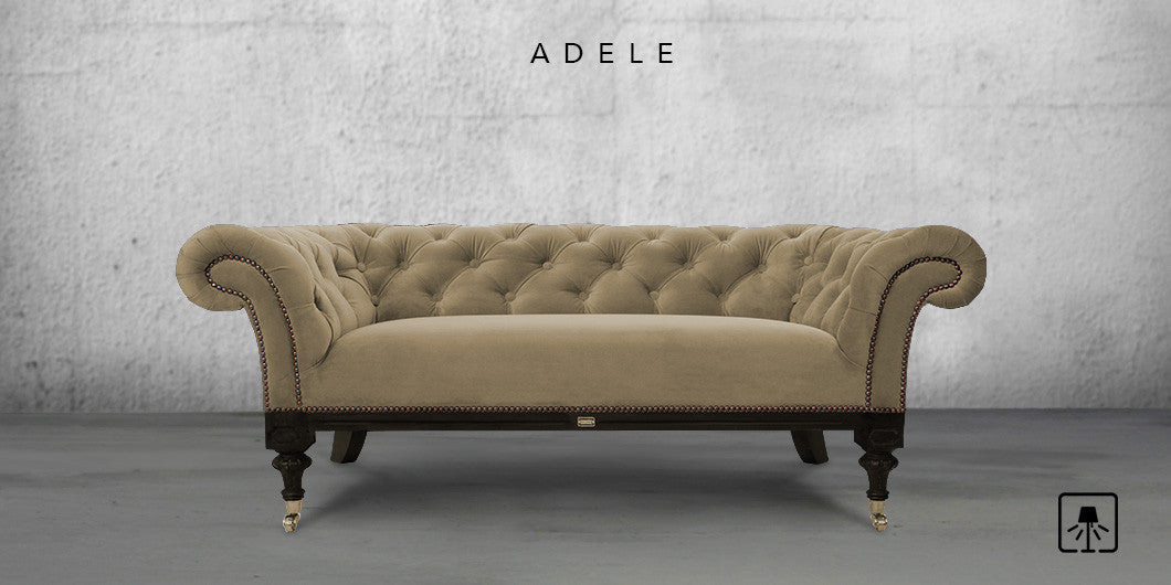 Counter Culture Adele Fabric Sofa Premium Light Brown1 ...