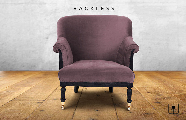 Counter Culture Backless Retro Chair Soft Pink1 ... & Backless|Classic Chair|Counter Culture