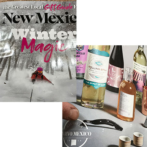 We are in New Mexico Magazine's Holiday Gift Guide!!!