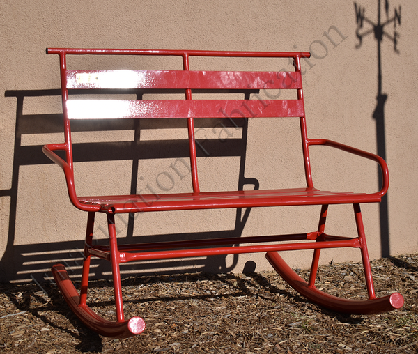 Vintage Ski Lift Chair Rocker