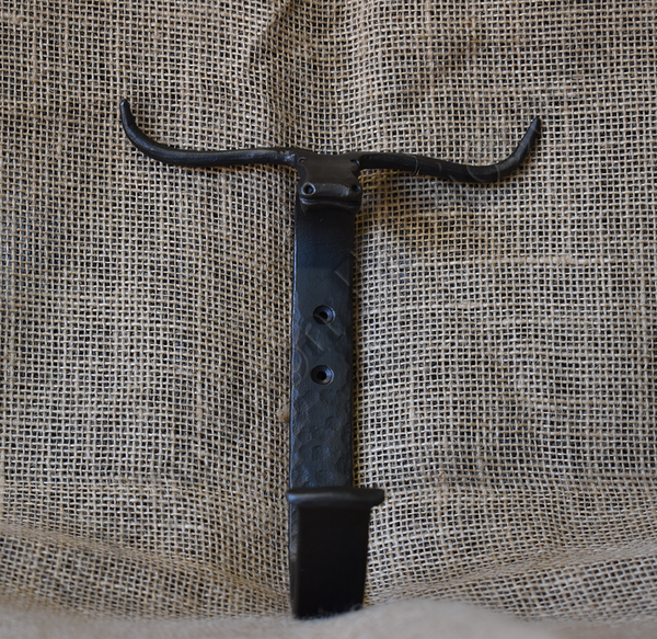 Long Horn Hat Hook (Single)