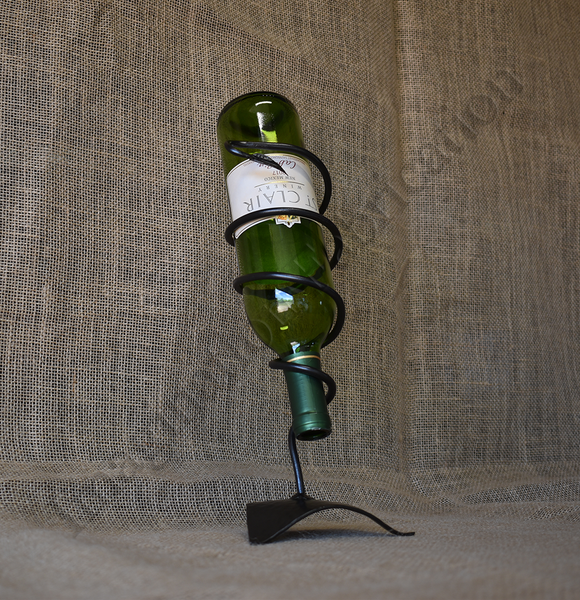Vid Torcida (Twisted Vine) Single Bottle Wine Rack