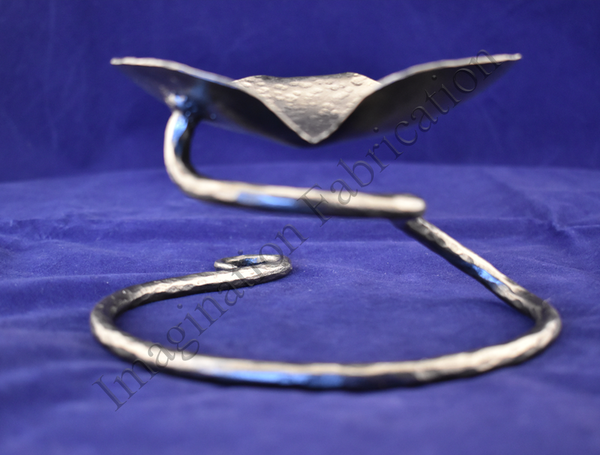 Steel Flutter Heart Bowl