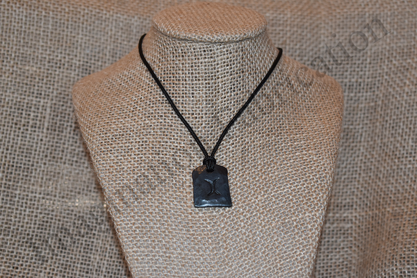 Dos Lunas Medallion Necklace