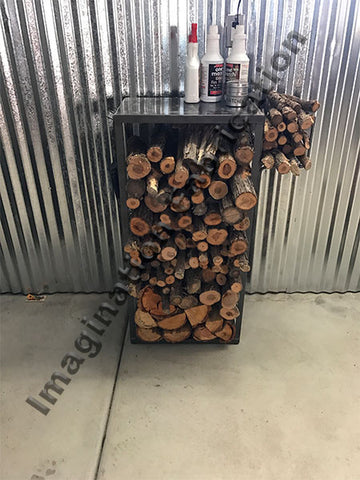 Hearth-Side Wood Rack