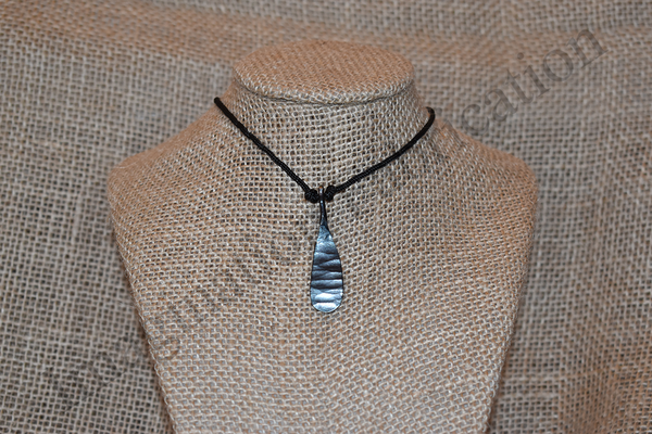 Pendulum Medallion Necklace