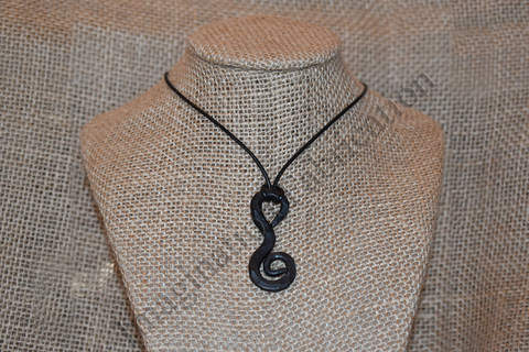 Vintage Scroll Necklace