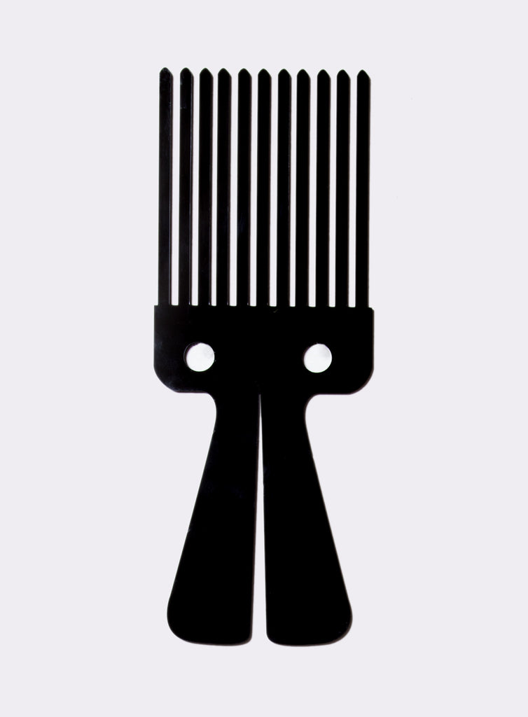 Afroji Black Afro Comb Wall Hanging