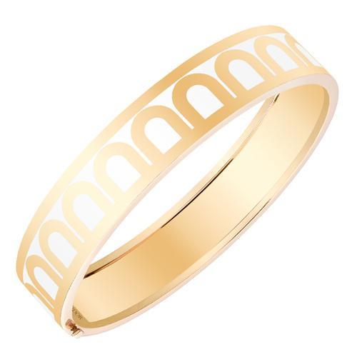 L'Arc de DAVIDOR Bangle GM, 18k Yellow Gold with lacquer