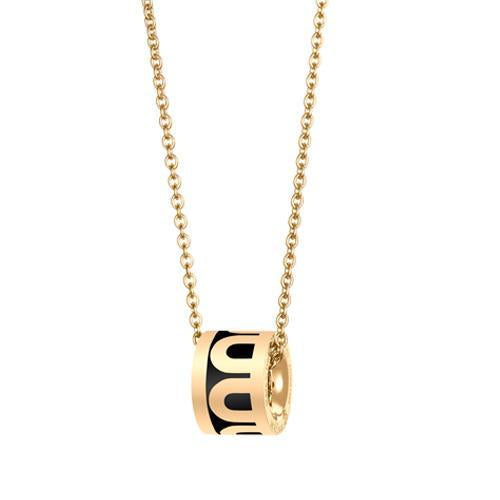 L'Arc de DAVIDOR Bead, 18k Yellow Gold with Lacquered Ceramic