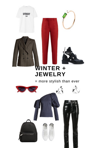 Winter + Jewelry = More Stylish Than Ever