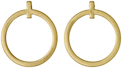 .The loop earrings