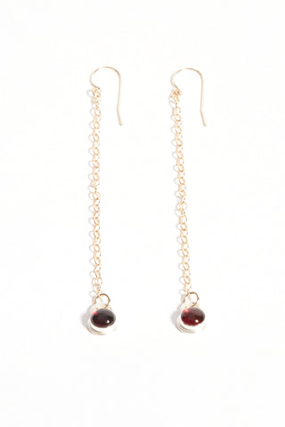 . Gregorian chain earrings