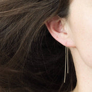 14K Ear Threaders - MOVIDA