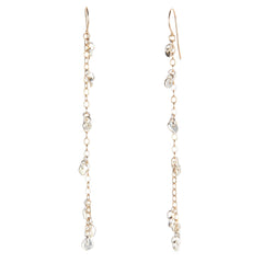 .Coco chain earrings
