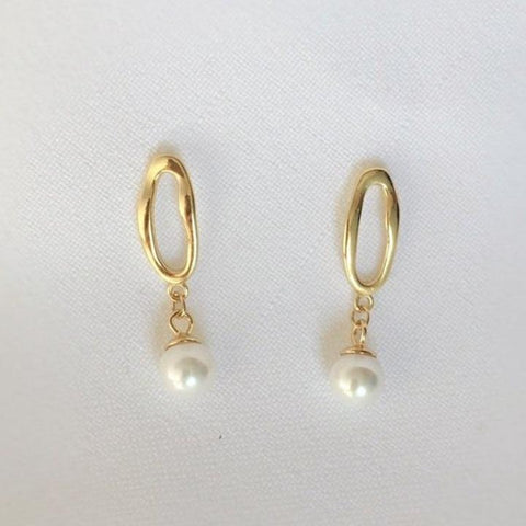 Amari Pearl Earrings - MOVIDA