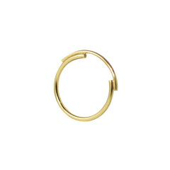 Arcs Gold-filled Ring