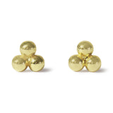 . LYC 14K gold trio ear studs