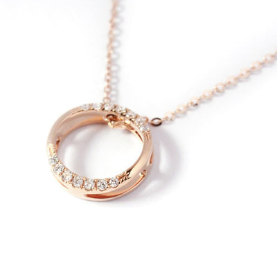 18K Rose Gold Rendezvous Necklace