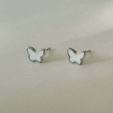 Lucia (Butterfly) Studs