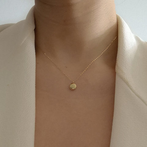14K Orb Necklace