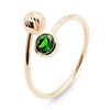 Follow Me tsavorite orb ring