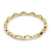 14K Wave Ring - MOVIDA