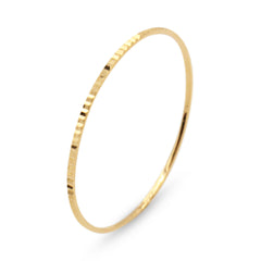 .LYC 14K gold gleam ring