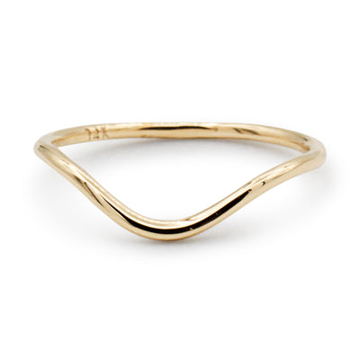 14K Dip Midi/Pinky Ring - MOVIDA